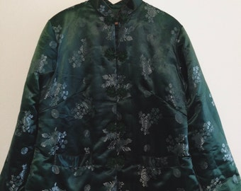 Green Chinese Traditional Coat