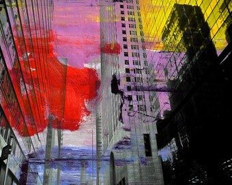 NEWYORK COLOR XX by Sven Pfrommer - 100x80cm Artwork is ready to hang
