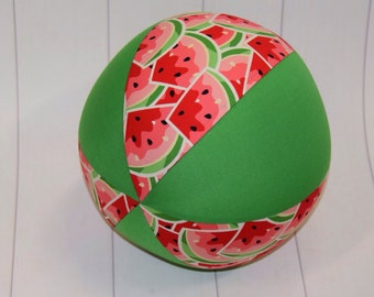 Balloon Ball Fabric, Balloon Ball Cover, Portable Ball, Travel Ball, Inflatable, Sensory, Special Needs, Watermelon, Kids, Dogs,Eumundi Kids