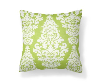 Green Throw Pillow Cover, Pillow Cover