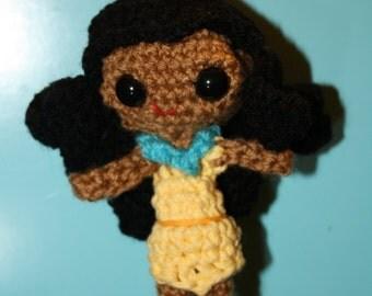 Pocahontas Amigurumi Crochet Doll