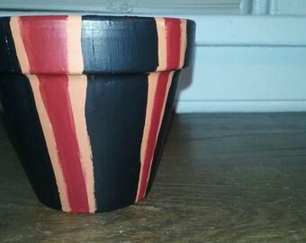 blue & red stripes