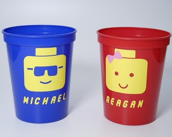Lego Favor Cup