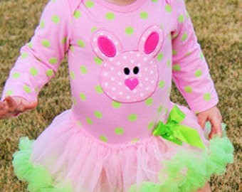 Pink & Green Easter Outfit