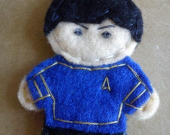 Spock&Kirk Keychain