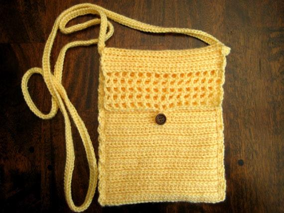 Easy Crochet Crossbody Bag Pattern : Crochet Pattern Crossbody Bag Crochet shoulder bags Patterns