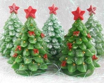 Christmas Tree 3d Soap Mold Symbol New Year Winter Tree Mold Woodland Tree Mold Christmas Tree Silicone Mold
