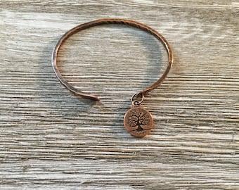 Tree of Life Copper Bracelet