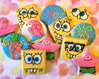 Sponge Bob Cookies