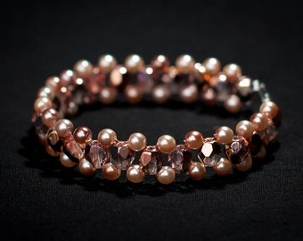 Beautiful Bronze Bracelet with Exceptional Sheen