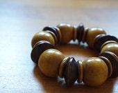Wooden Beaded Bracelet...