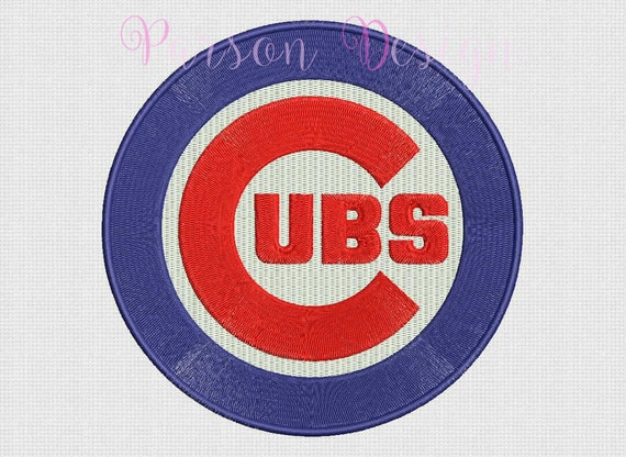 Embroidery Design Chicago Cubs