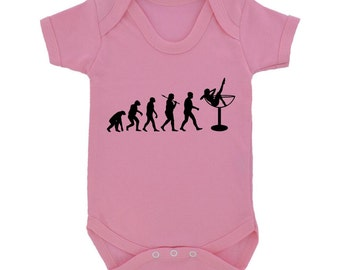 Evolution Of Burlesque Design Babygrow - 11 colours & 3 sizes available