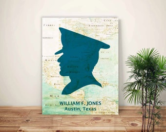 Policeman Art, Police officer  PERSONALIZED policemen gift, Police graduation gift, Personalized Poster policeman, detective, patrolman