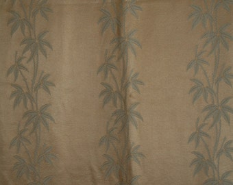Fab Vintage  Gold Bamboo curtains