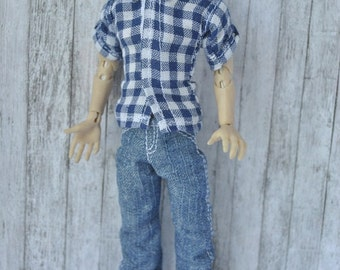 Handmade Clothes for 1/12 male dolls Zjakazumi