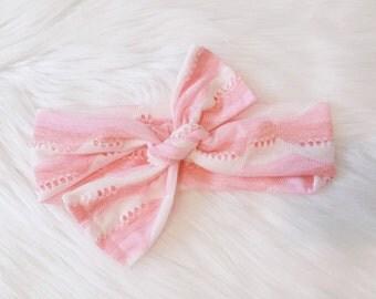 Cute comfy pink headband