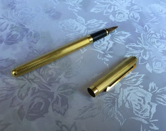 Sterling gold fountain pen