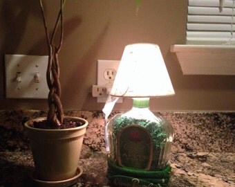 Crown Royal Green Apple Accent Lamp