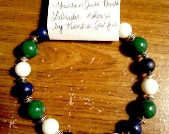 Labrador Bracelets made in Makkovik with Mountain Jade Beads