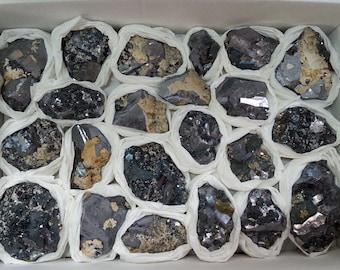 Flat-Galena-Sphalerite-Borieva mine-Madan Bulgaria 22pcs