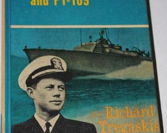 Landmark Book 1962 - John F. Kennedy and PT-109 - Very Good Condition - History of John F. Kennedy - JFK