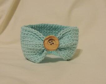 Handmade Crocheted Newborn Earwarmer