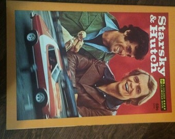 Starsky and Hutch golden book 1970s