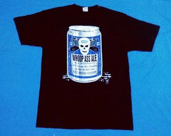 rare stonecold steve austin 90's shirt wrestle / wwf wwe wcw shirt /wrestel shirt /wrestler