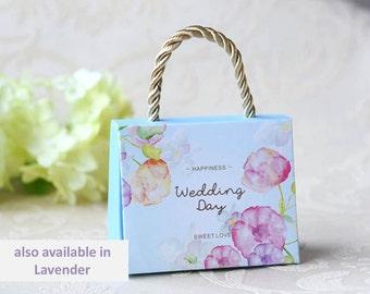 100 x Wedding favor box - Summer Garden