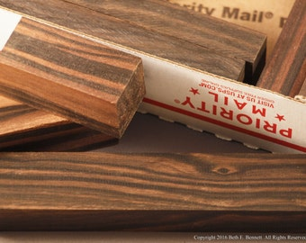 Macassar Ebony - Exotic Wood Scraps