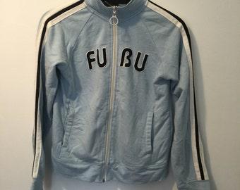 X-Small Blue Fubu Tracksuit Top