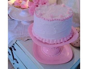 Fake Vanilla Cake
