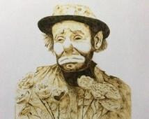 High quality print of an original Emmett Kelly