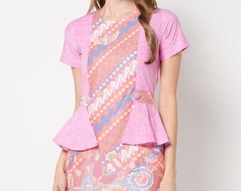Le Viel Batik Minidress - Batik Indonesia