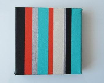 Original Abstract Art, Stripes
