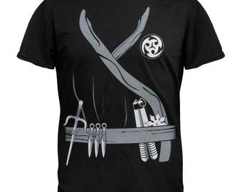 Halloween Ninja Assassin Costume T-Shirt
