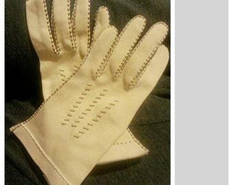 1940's evening gloves