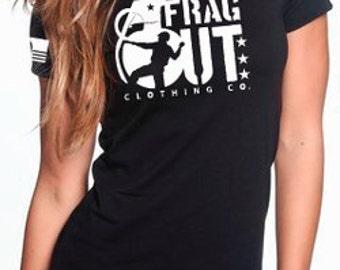Women's Frag Out Logo T-shirt