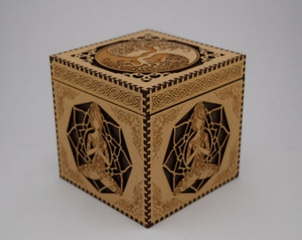 Yoga Jewelry Box (Keepsake, Trinket)