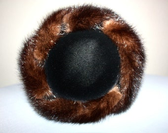 FILBERT ORCEL JR Fur Trimmed Hat
