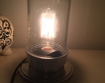 Rustic Edison Accent Lamp