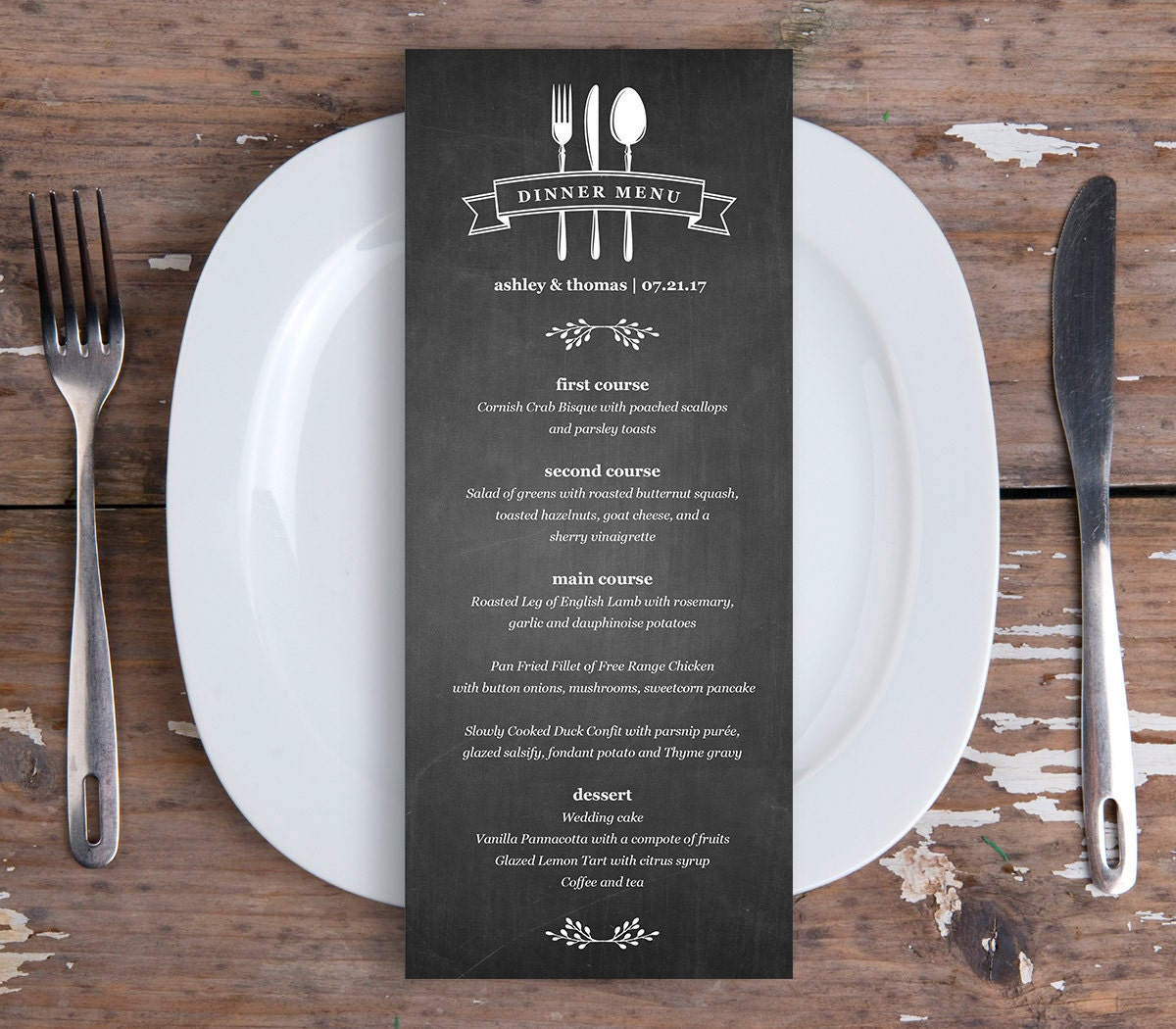 It is a graphic of Trust Printable Dinner Menus