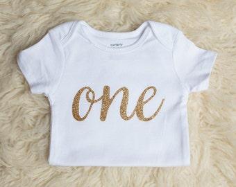 First Birthday Outfit, 1st Birthday Outfit, 1st Birthday Onesie, Personalized Onesie, Glitter Onesie, Princess Onesie, Princess Birthday