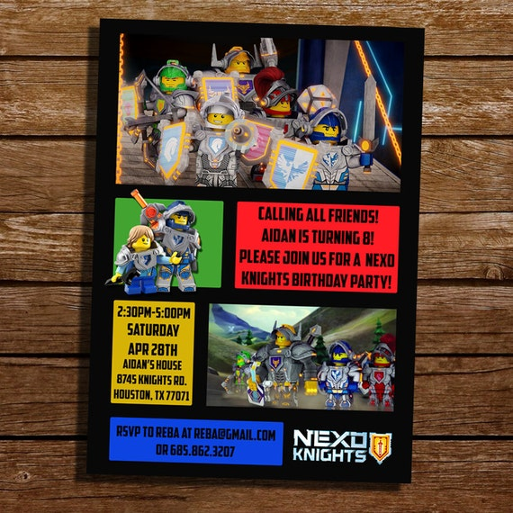 Lego Invitation Card is perfect invitations ideas