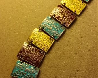 Chunky Multicolored Bracelet