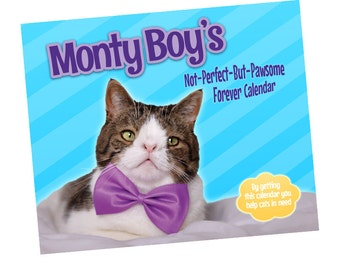 Monty Boy - Forever Wall Cat Calendar - Support Animals in Need