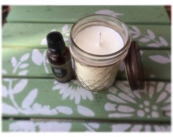 Natural Citronella Candle/ Citronella Soy Candle