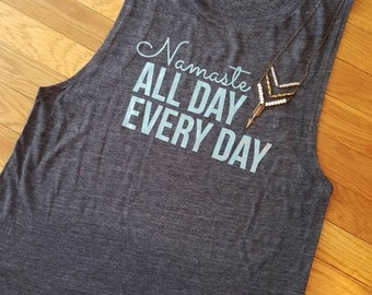 Namaste All Day Muscle Tank