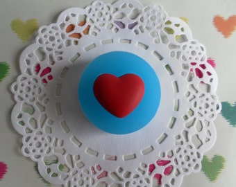 Heart Mould, Silicone moulds, Polymer Clay Mold, Soap Mold, Mould Resin, Flexible mould, food safe mould, wax mould, 3D silicone mold